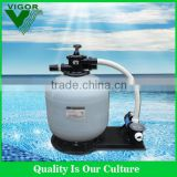 2016 Factory supply integrative combo fiberglass swimming pool sand filter and pump water filter best price for sale