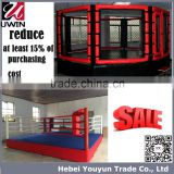 UWIN Standard used boxing ring for sale, sanda, kickboxing, muay tahi, MMA ring for training