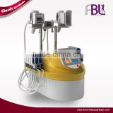 Double Chin Removal Cryolipolysis Vacuum Roller Cold Laser RF Increasing Muscle Tone 4 In 1 Combined Body Shaping Machine