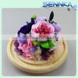 Wedding gifts natural preserved roses head nature ornament flower handmade preserved arts and crafts