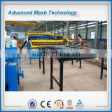deformed steel ribbed steel bar wire mesh welding machines for bridge or contruction using mesh