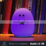 Wholdsale LED baby sleeping projector egg shaped lamp night light