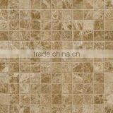 High Quality Emperador Light Polished Mosaic Tiles For Bathroom/Flooring/Wall etc & Best Marble Price