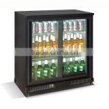 2015 Good Price Sliding Door Beer Cooler