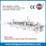 China alibaba express high Speed Bottom-lock Carton Automatic Folder Gluer machine