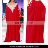 Beautiful Dubai Fancy Kaftan Women Abaya Dress Muslim Wedding Gown(16051601)