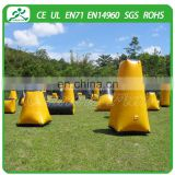 Exciting sports game inflatable paintball bunker