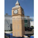 Custom giant inflatable Big Ben for advertising