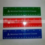 Advertising plastic ruler 15cm