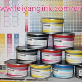 Lithography sublimation ink for polyester printing