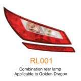 Golden Dragon Higer King Long bus rear lamp,bus tail light (RL001)