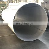 sch80s stainless steel welded large pipe tube 1.4401