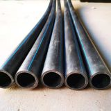 Polyethylene Drainage Pipe Thermal Fusion Connection Black Pe Pipe