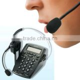 high quality business corded telephone set with headset