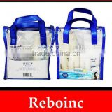 Top selling tote bags for college girls pvc handle bag