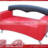 Beiqi Hard Wearing Waiting Sofa for European Market Wholesale Price for Restaurant Lobby Customer Waiting Chair
