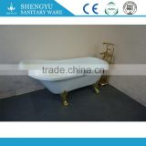 2016 customized claw foot tub/ classic bath tub/ soaking bathtub with all sizes