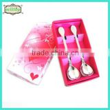 Cheap stainless steel spoon indian wedding return gift                                                                         Quality Choice