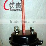 brake chamber,trailer,truck,T30 Single Brake Chamber/T30-30DD,T24.BLACK,GOLD/air brake chamber