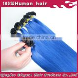 Top quality Alibaba European remy u tip keratin human hair extension