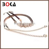 // Charming fancy silver chain belts for lady // factory fashion belt for wholesale ladies //