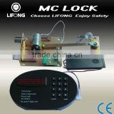 Digital safe deposit box lock for home safe and hotel safe,alarm system
