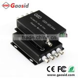 4 channel CCTV balun AHD/CVI/TVI signal and power multiplexer coaxial Multiplexer