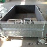steel checker plate hot dipped galvanized camper trailer and camping trailer