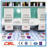 More quality and large discount 6 head normal speed flat computerized embroidery machine