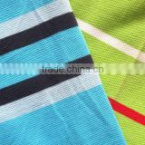 21s 210gsm 100% carded cotton stripe pique fabric