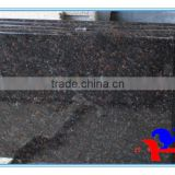 Tan brown granite counter top