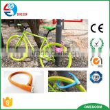 New arrival anti-theft lock safety silicone bicycle lock