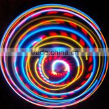 24 Inch LED Lighted Twist lighted led hula hoop Cosmic Glow Hoola Hoop