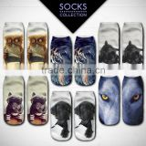 high quality animals 3d full print wholesale teen cartoon tube socks                                                                         Quality Choice