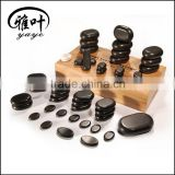 Wholesale Hot Stone Massage Stone Kit Healing Hot Spa Stone