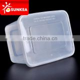 High quality PP plastic food box, tight sealing