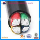 3*185mm+1 flame retarded XLPE Insulated PVC Sheathed Power Cable 0.6/1kv round aluminum cable XHHW-2