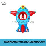 2016 Inflatable kids seat boat PVC air water seat for kid inflatable animal boat