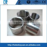 "stainless steel casting pipe fittings 304 316 150PSI 1 1/4"" threaded female NPT full coupling"