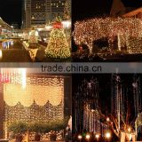 Christmas Decoration 3m Droop 300cm Curtain Icicle String Led Lights AC110V For Outdoor New Year Garden mas Wedding Party