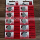 lithium battery cr2032 /button battery operated fairy lights /CR2032 with Blister card