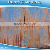 Newest PVC Mateiral Full Bus Body Wrapping Anti Theft Sticker Rusty Decoration Vinyl