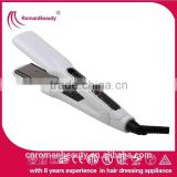 Super fast heat-up personalized hair straightener hair flat iron dual voltage operation flat iron rm-40