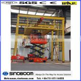 Sales small platform hydraulic scissor lift,lot stock scissor lift china,industrial aerial working platform