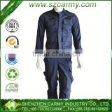 T/C fabric blue color multi pockets military guard SWAT uniform