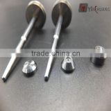 China factory specializes in high precision tungsten carbide nozzle pin parts for glue sprayer machine