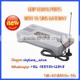 widely used VoIP products Voice over ip sim gsm gateway 16 channels analog telephone adapter