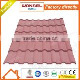 Wanael hot sale high quality Heat insulation roof sheet tiles/guangzhou construction materials/roman pattern tiles