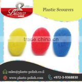 Plastic Mesh Scourer Ball for Non Scratch Delicate Cleaning