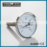 Wall plastic window thermometer for measure water temperature